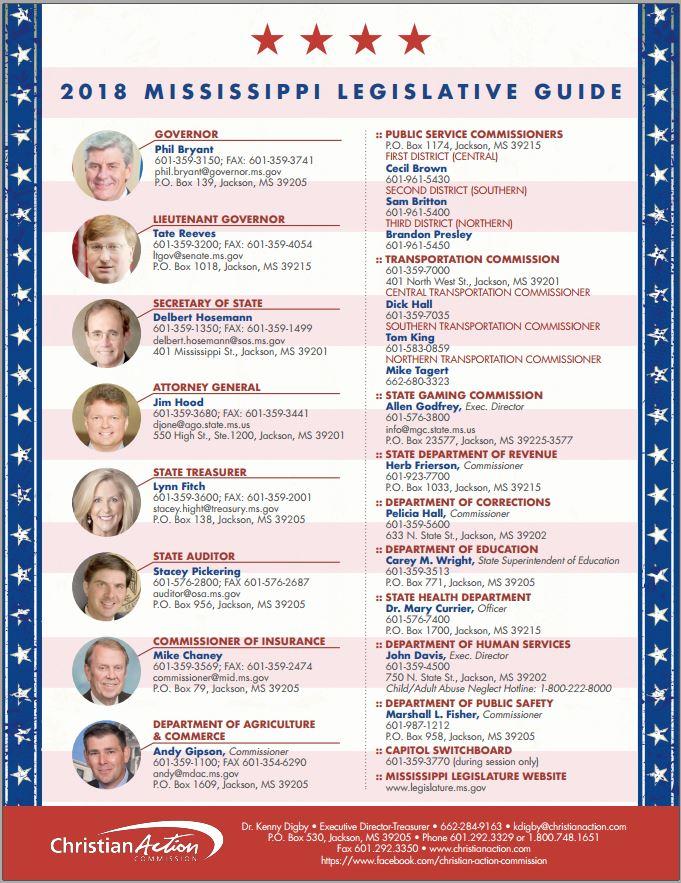 Mississippi Legislative Guide